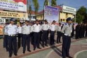 Dishub HSU Ikuti Upacara peringati Hari Bhayangkara ke-72 tingkatPolres HSU