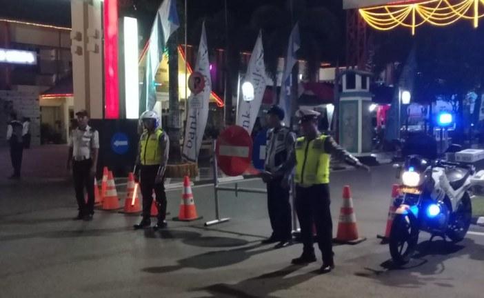 PENGAMANAN JALUR AMUNTAI MAULID FESTIVAL 2018